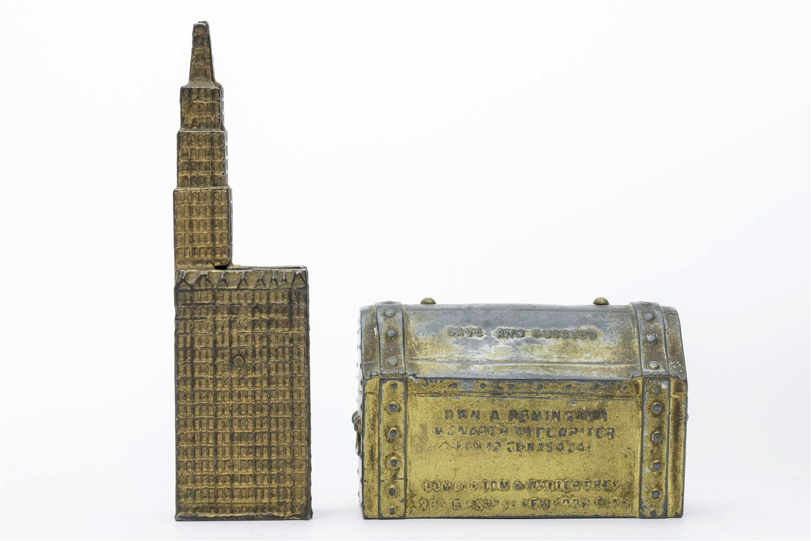 Treasure Chest & Woolworth Building Banks
