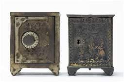 Two Iron Safe Banks