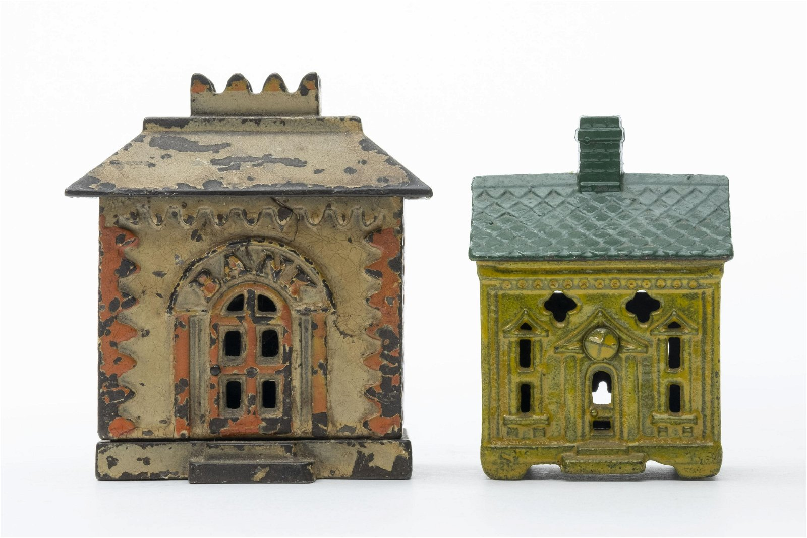 One Story House & Crown Iron Banks