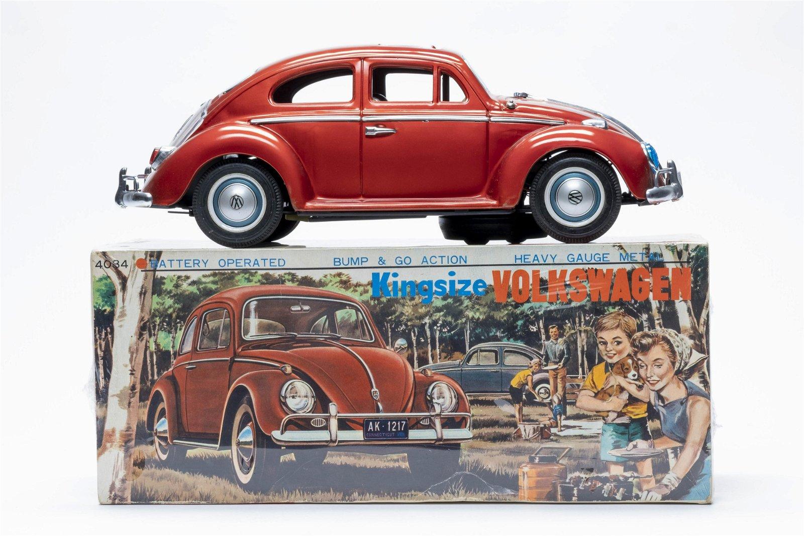 Bandai Kingsize Volkswagen Battery Op w/ Box