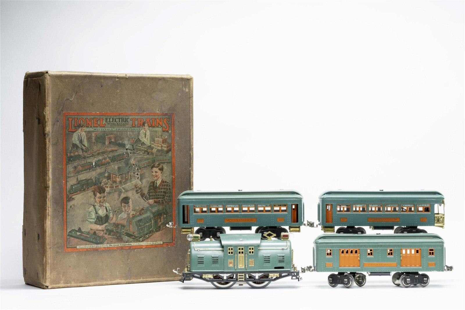 Lionel 352 E Set with Original Box