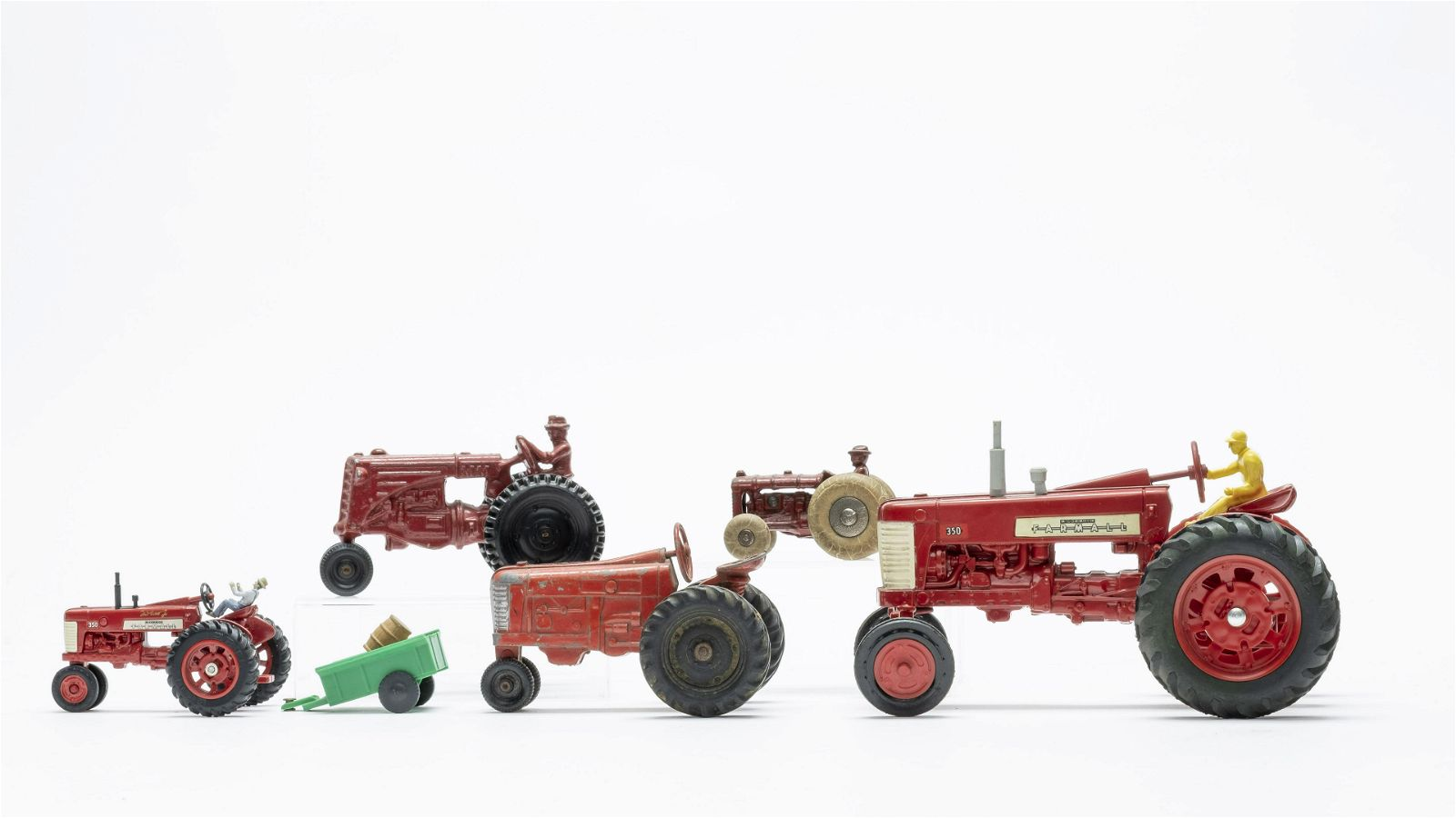 Group of 5 Tractor Toys