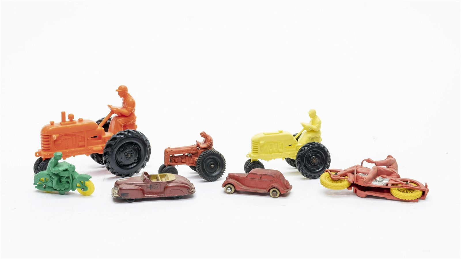7 Toy Vehicles