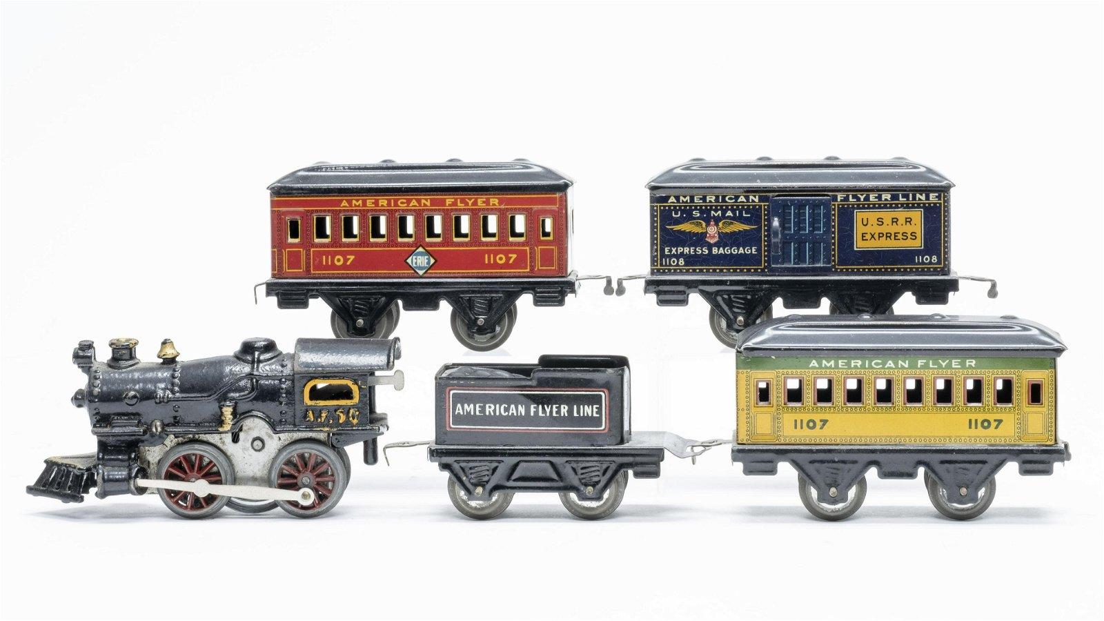 American Flyer  #10 Engine  Train Set