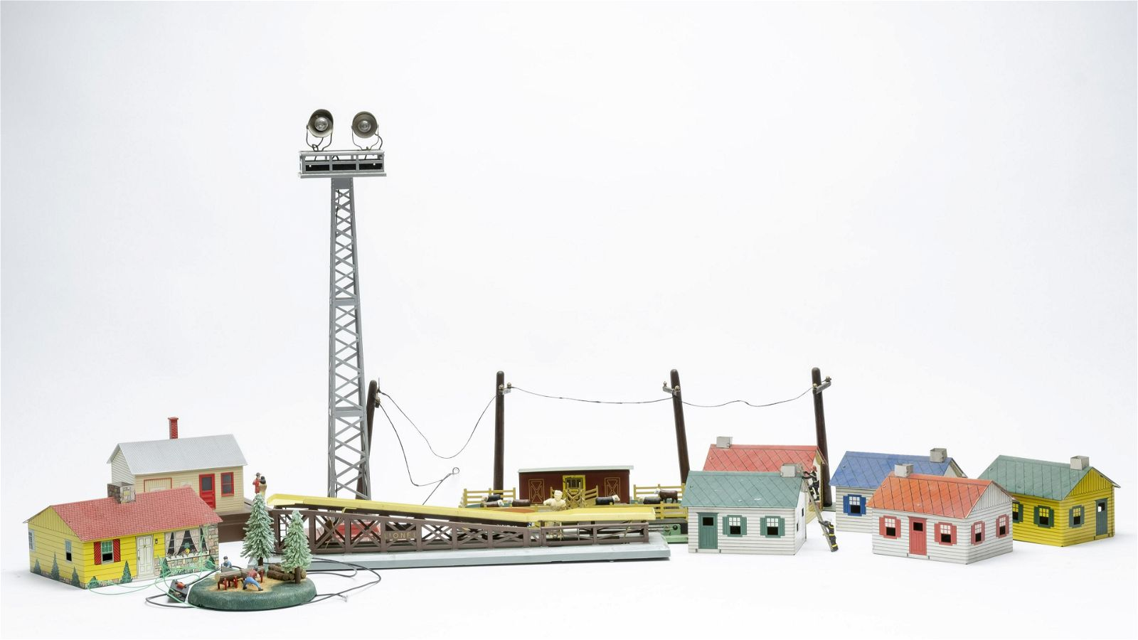 Large Group of Train Accessories