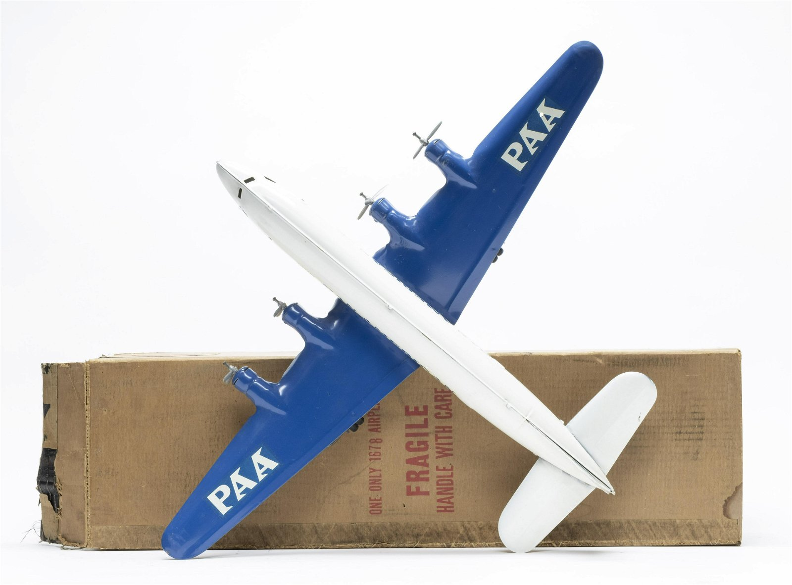 Marx Pan Am Clipper Meteor with Box
