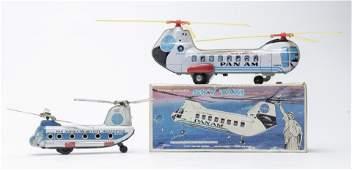 Haji / Daiya Pan Am Helicopter Toys