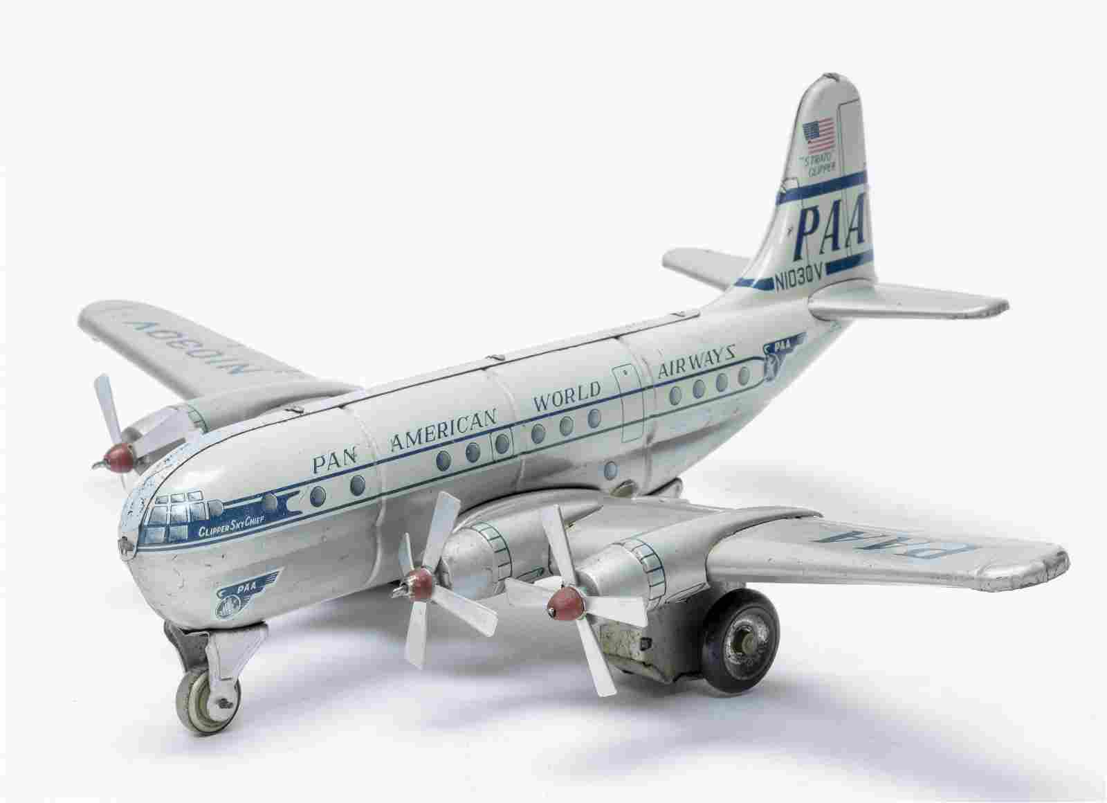 Alps Pan American Strato Clipper Friction Toy