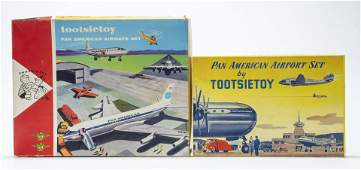 Two Pan Am Tootsietoy Sets with Boxes