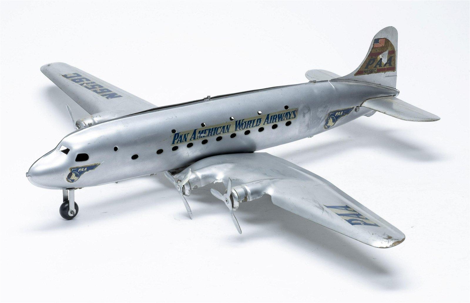 Marx Pan Am Airplane N6519C