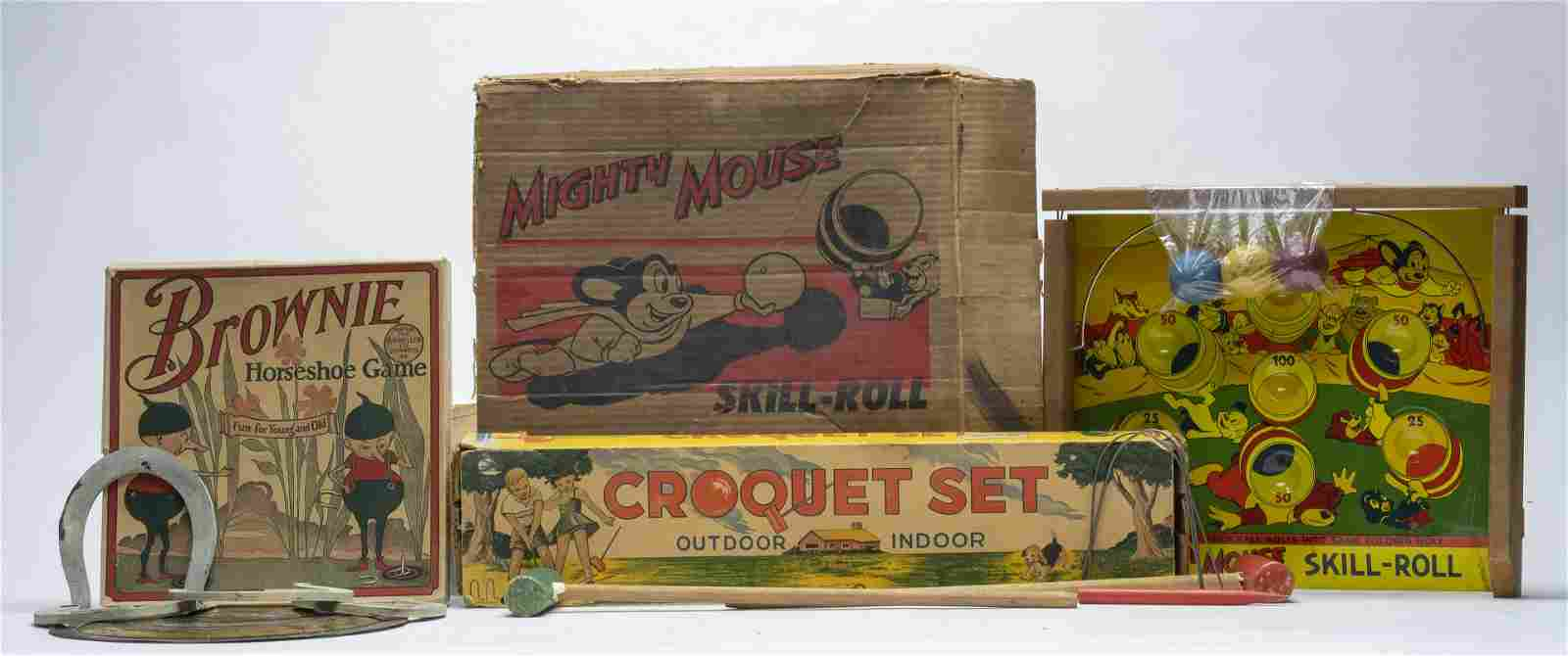 Three Fun Games for You & Yours!  Mighty Mouse