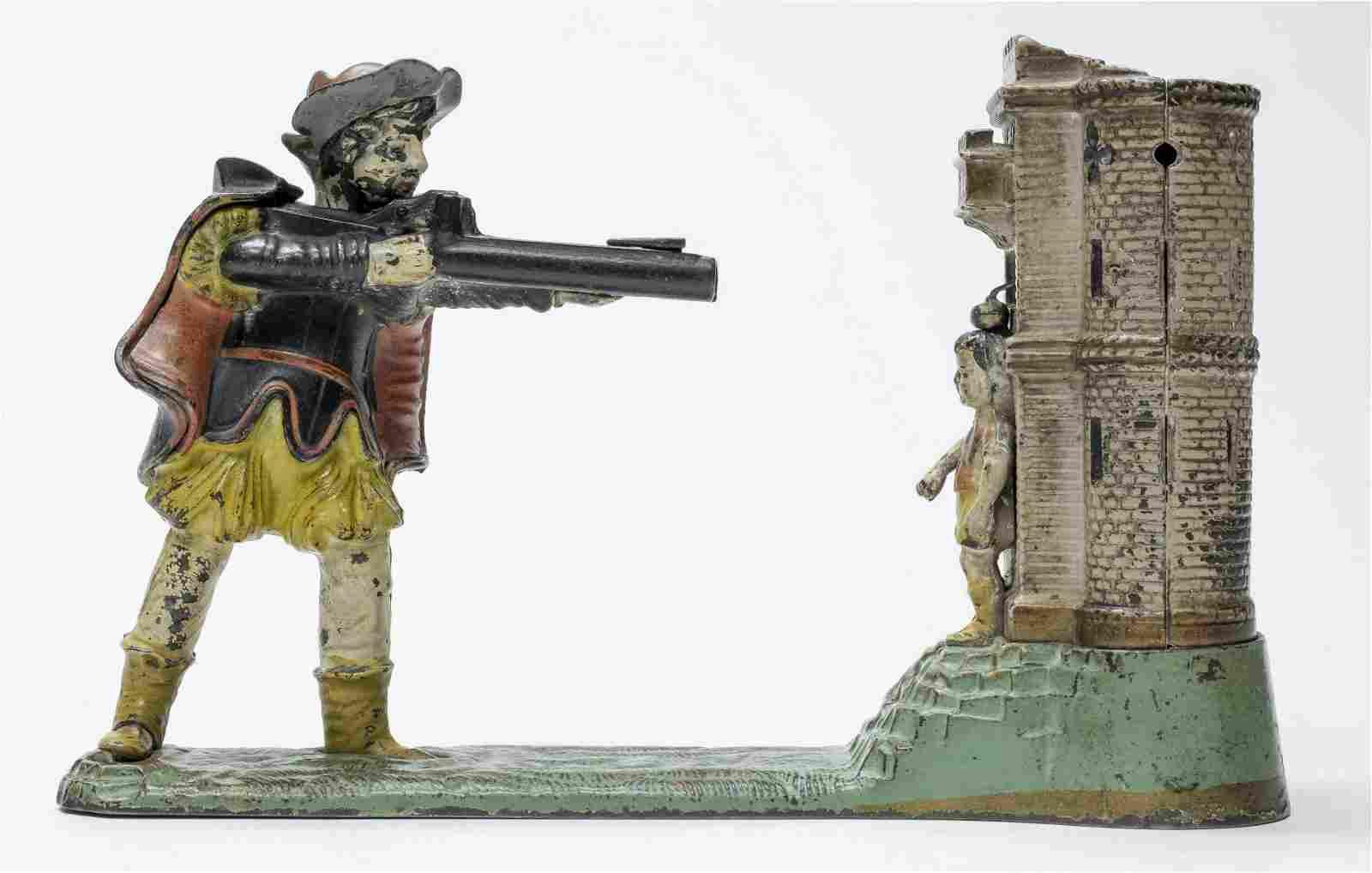 William Tell Iron Mechanical Bank