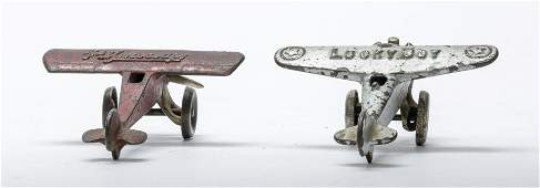 Hubley & Arcade Cast Iron Airplane Toys