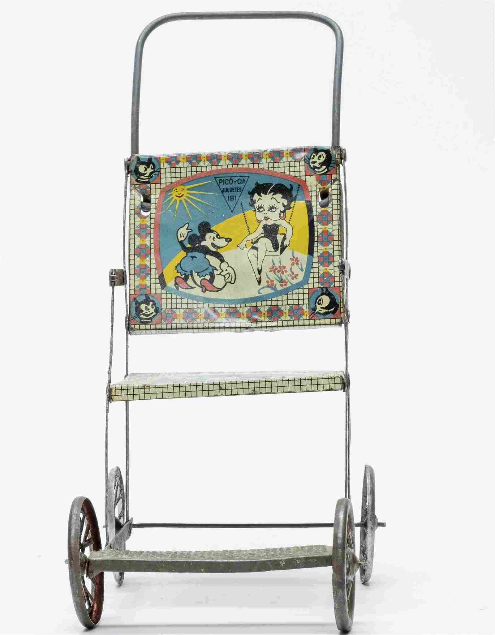 Rare Mickey Mouse & Betty Boop Chair Rico / Paya