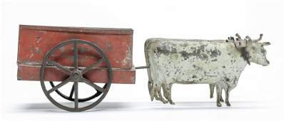 George Brown Oxen Cart