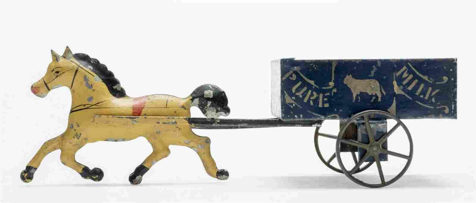 """George Brown """"Pure Milk"""" Cart"""