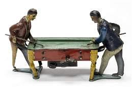Pool Players HUKI German Tin Windup Toy