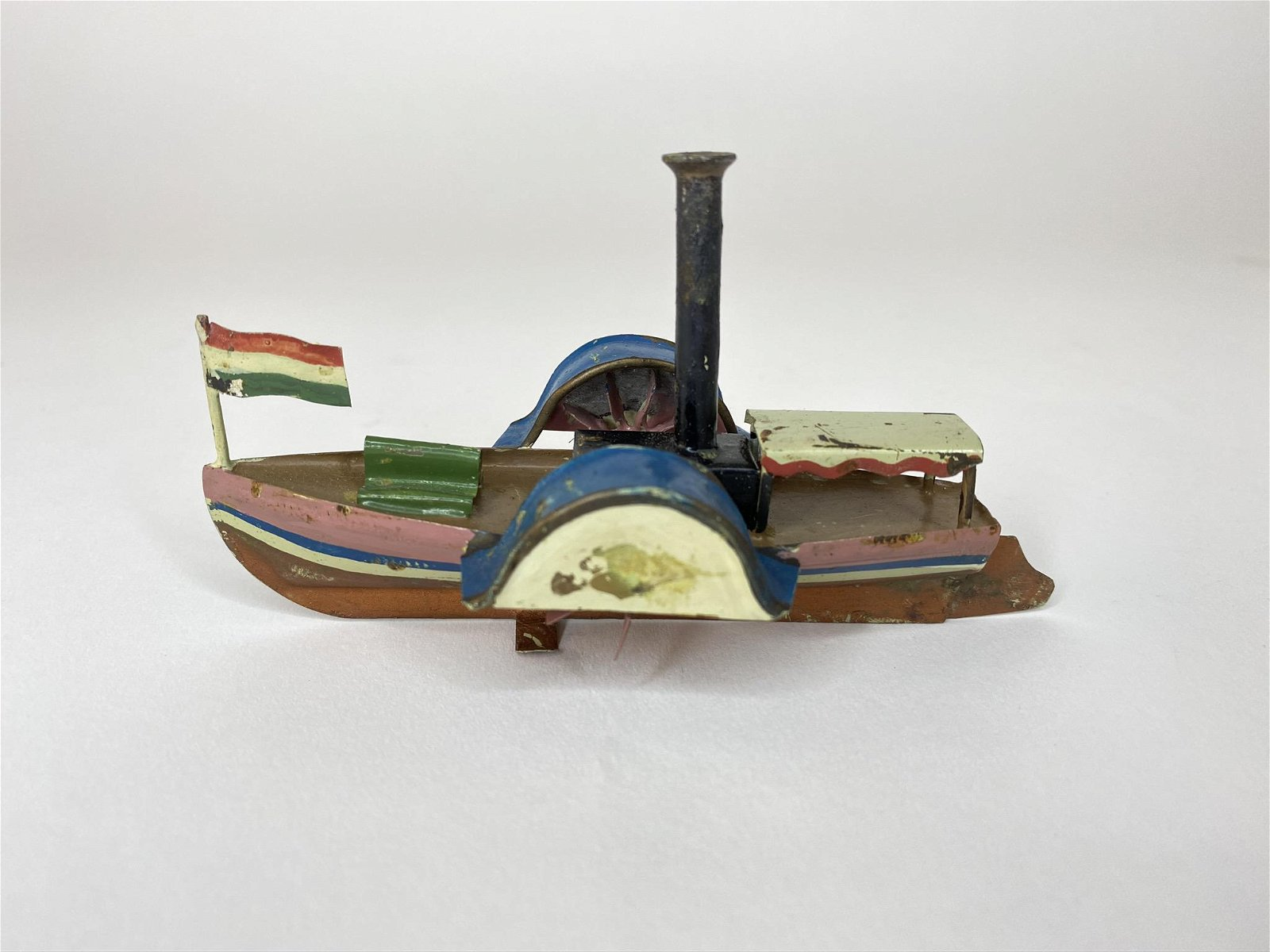 Early Ishmayer Paddle Wheeler Riverboat