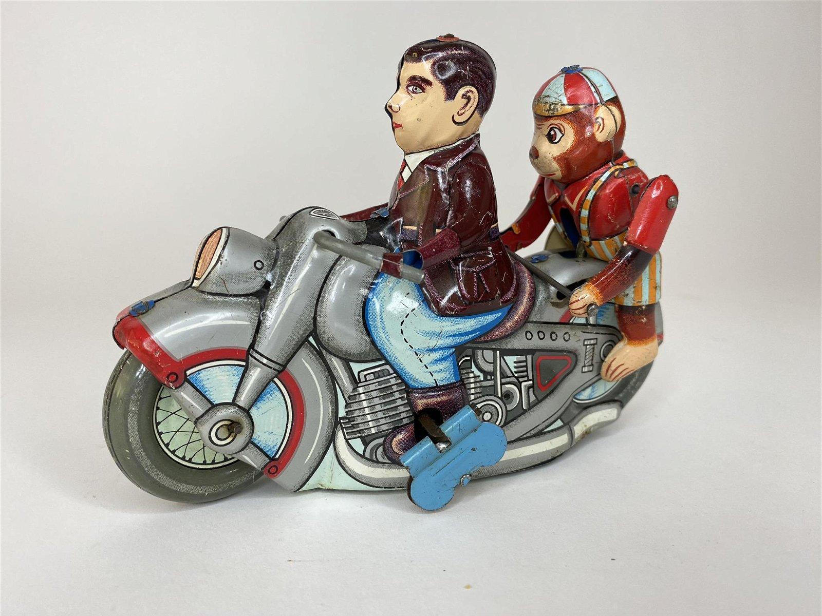 Acrobatic Monkey on Motorcycle Kanto Toys