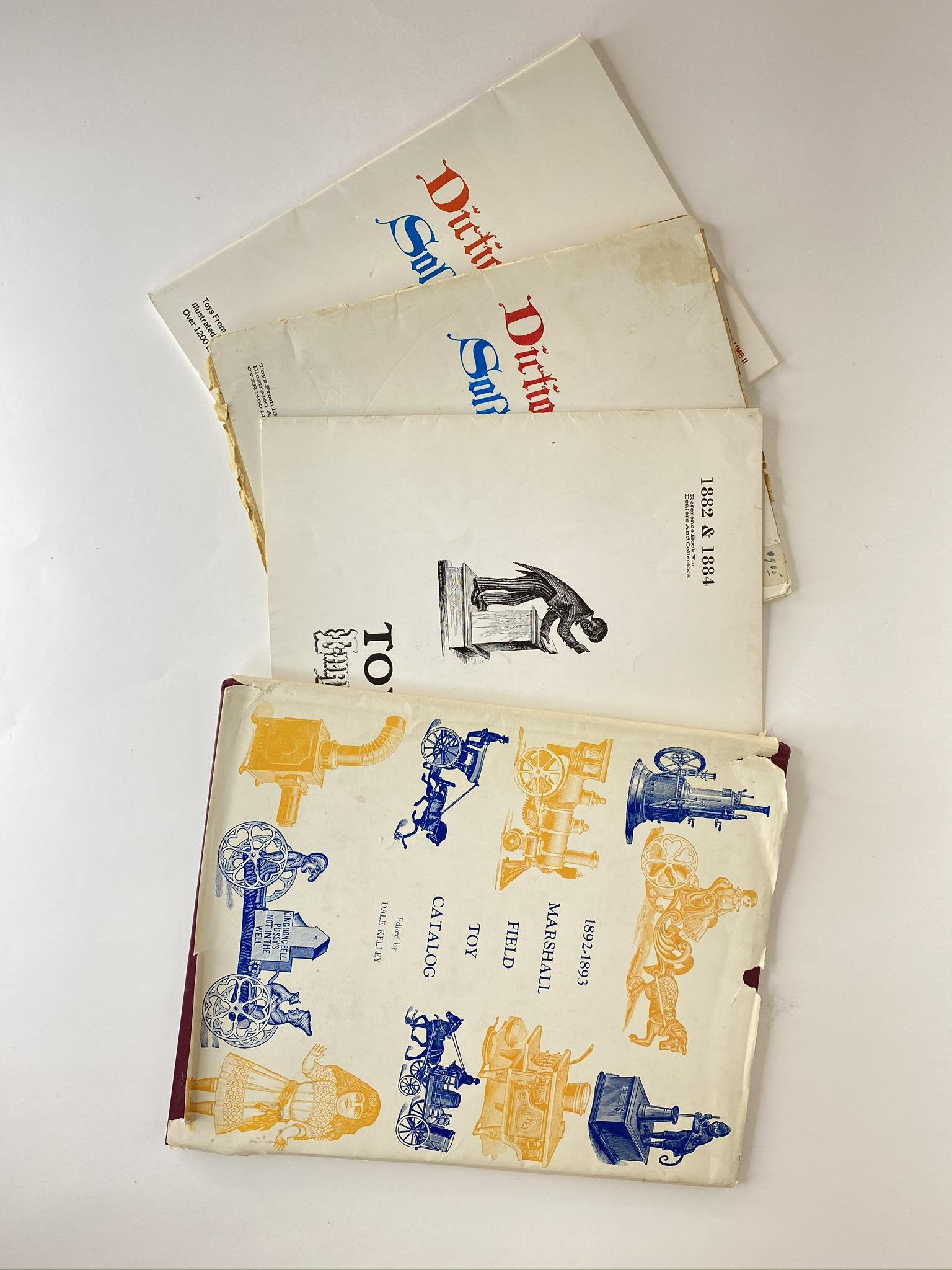 Marshall Field & Ehrichs Toy Catalogs