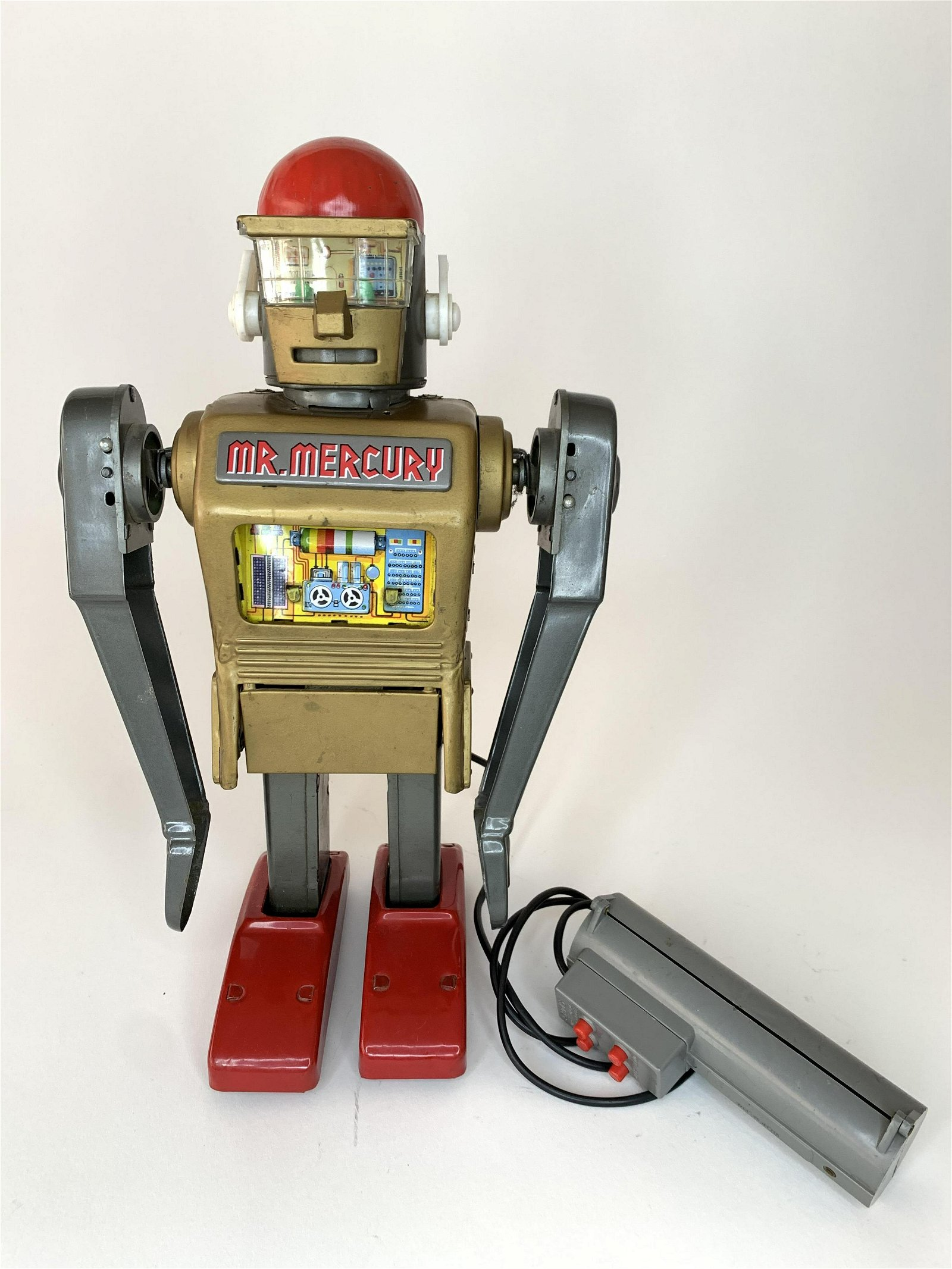 Battery Operated Mr. Mercury Robot
