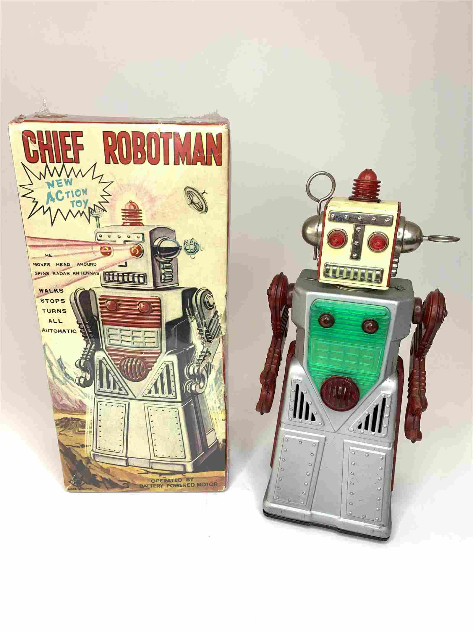 Battery Operated Chief Robotman