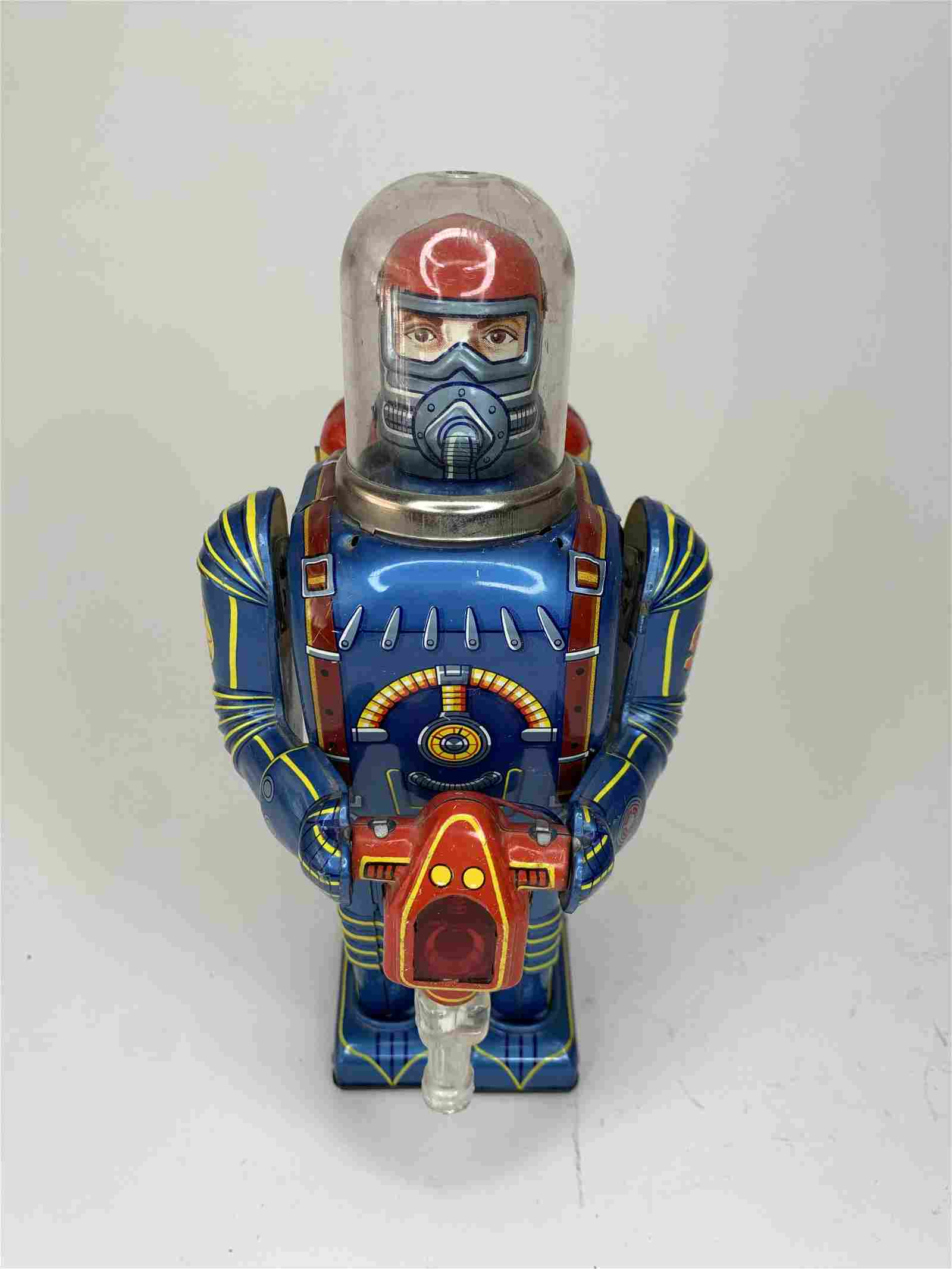 Rare Mercury Man Space Robot S-5