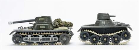 Gescha & GAMA Tank Windup Toys