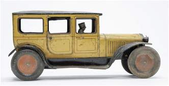 Bing Limousine Windup Tin Toy
