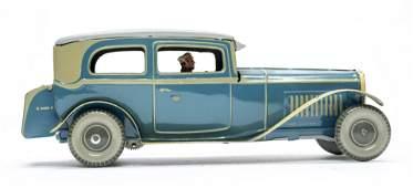 German Saloon Car Windup Toy