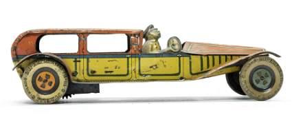 Alemanni Limousine Tin Windup Toy