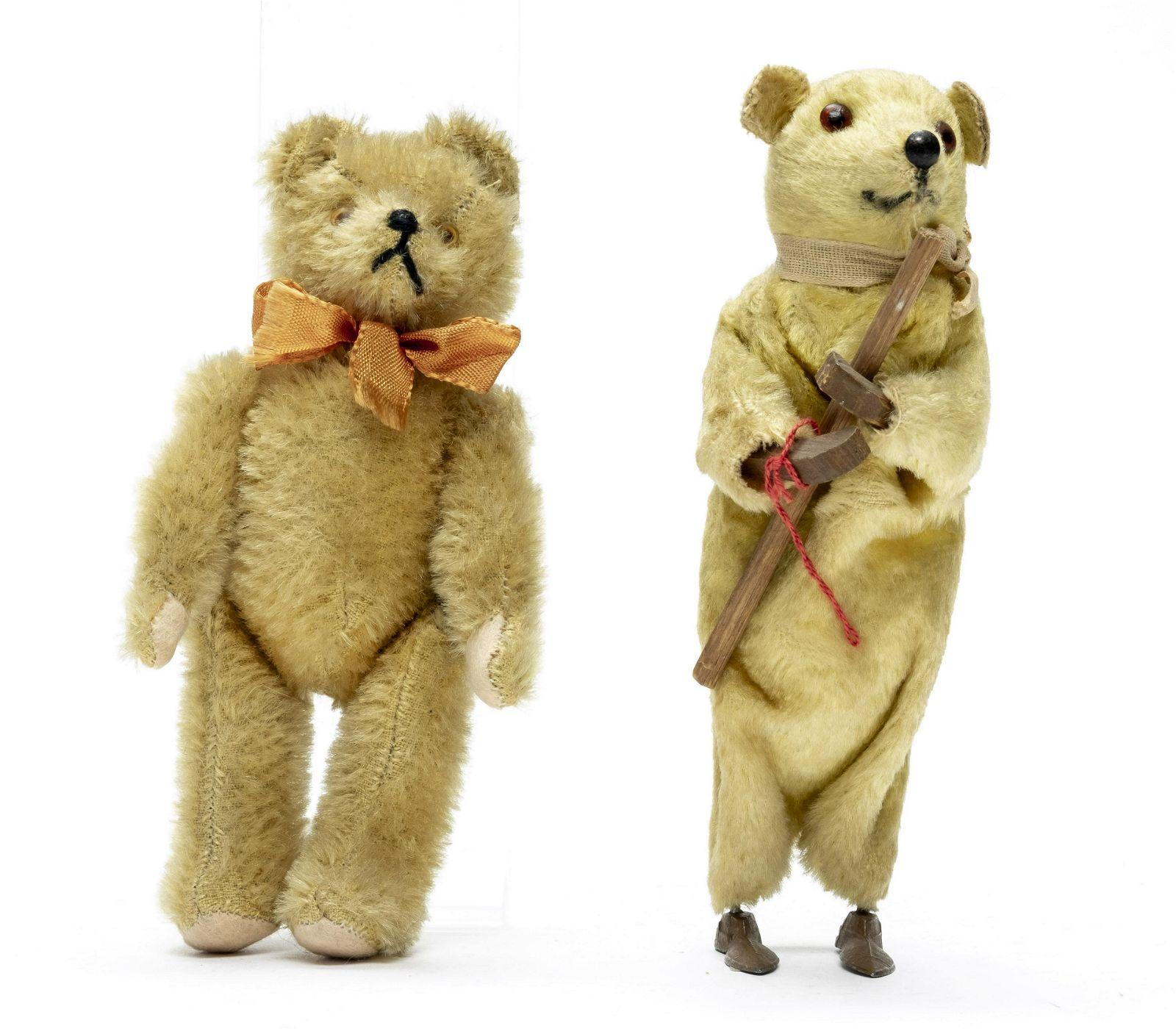 Two Teddy Bear Toys