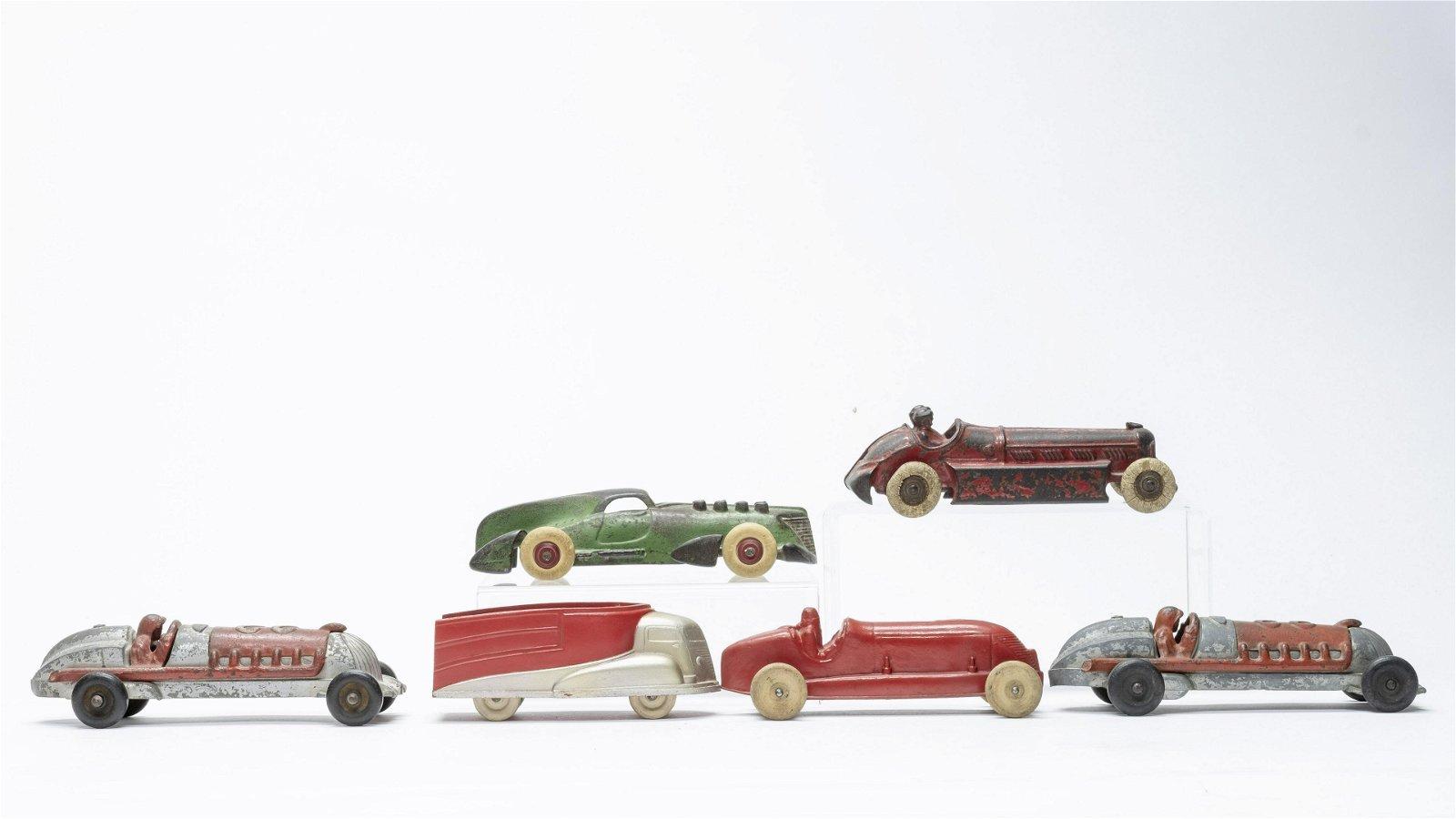 Six Assorted Vehicles