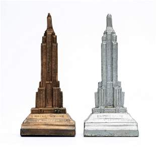 Two Empire State Building Pen / Pencil Holders