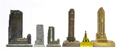 Six Rockefeller Center Souvenirs