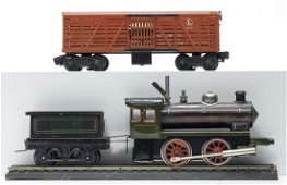 Locomotive  Tender  Lionel Box Car
