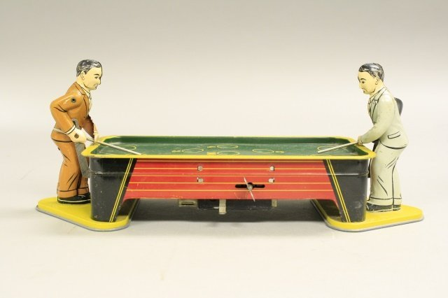 Double Billiards Players - Large