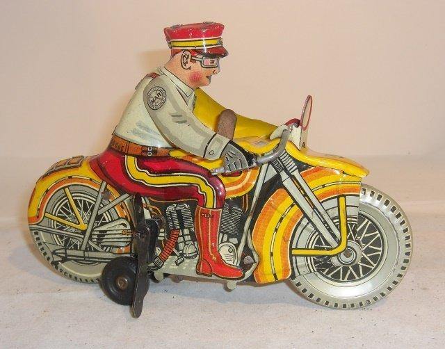 MARX TIN MOTORCYCLE
