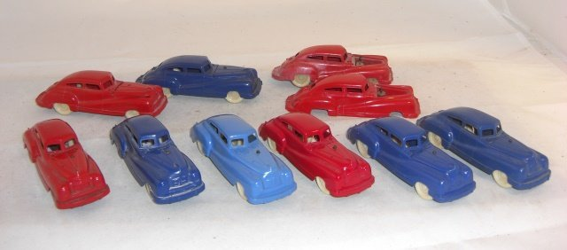 KEYSTONE PLASTIC CARS