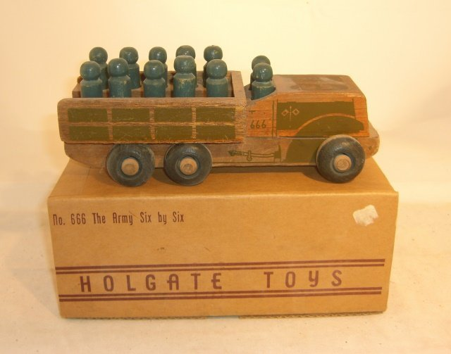 """HOLGATE ARMY VEHICLE #666 """"THE ARMY SIX BY SIX"""""""