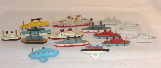 16 SMALL SHIPS