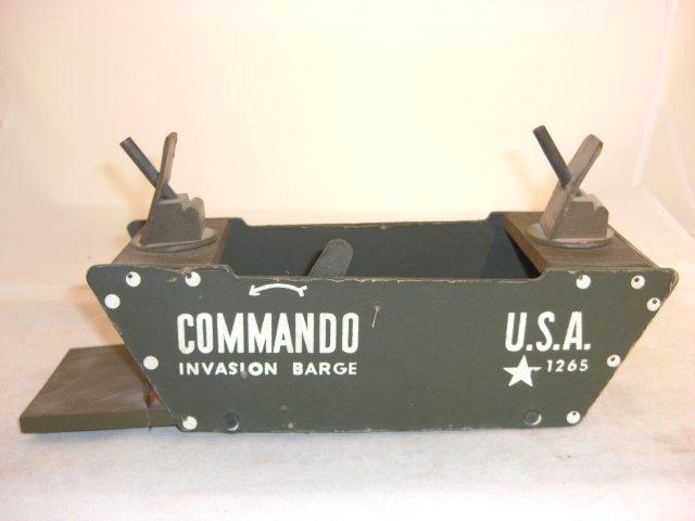 """COMMANDO TOYS """"COMMANDO  INVASION BARGE"""""""