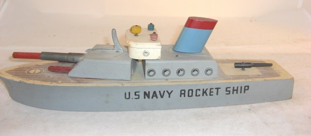 """KEYSTONE """"U.S. NAVY ROCKET SHIP"""""""