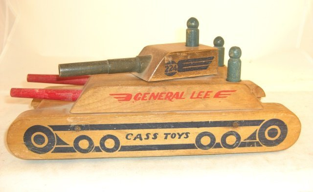 "CASS TOYS ""GENERAL LEE"" WOOD TANK"