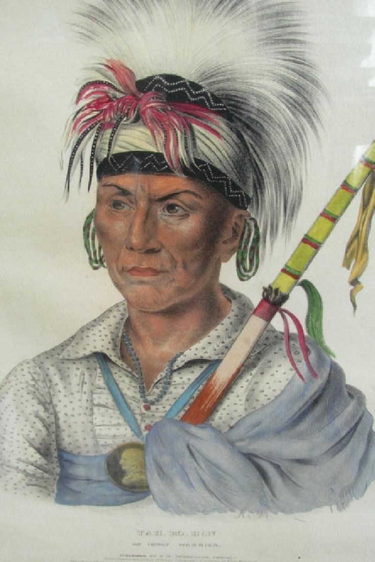 Tah-Ro-Hon - An Ioway Warrior