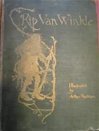 Rip Van Winkle 1st Edition Arthur Rackham