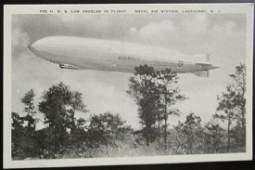 The USS Los Angeles In Flight ~ Lakehurst NJ