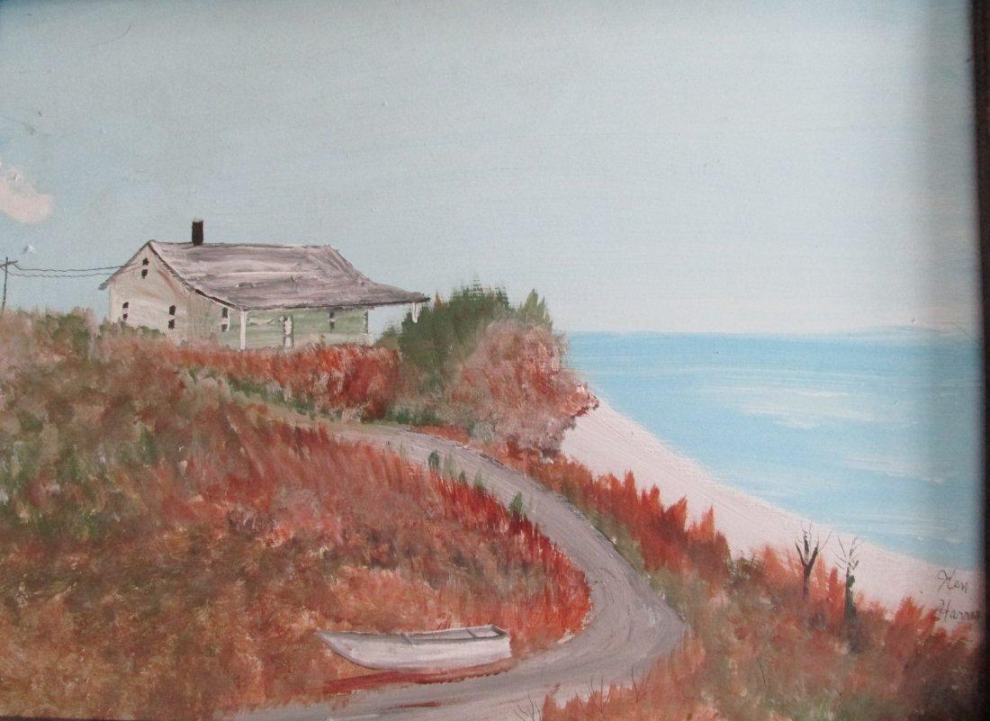 House On The Hill - Ken Harris 1905 - 1981