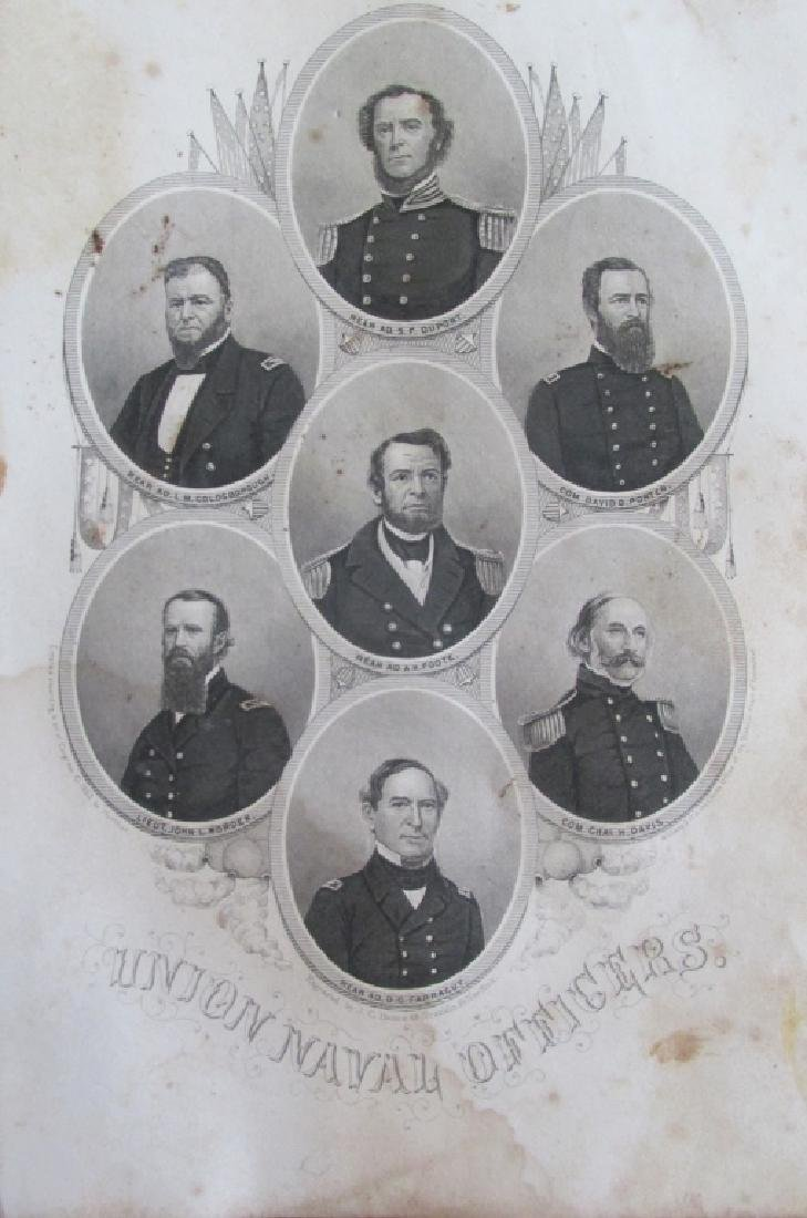 Union Naval Officers - C1862