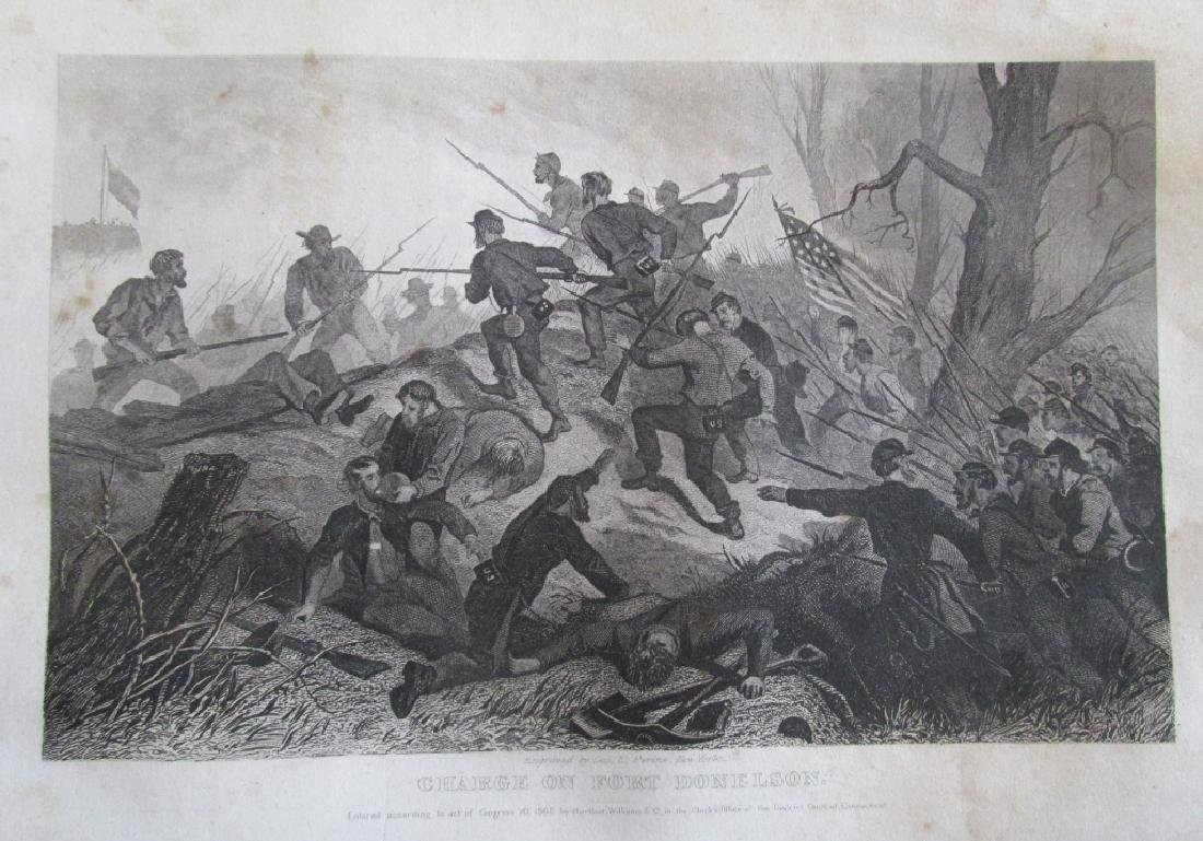 Charge On Fort Donelson [Civil War]